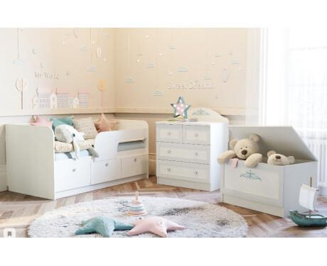 Детская мебель Прованс (композиция 3)