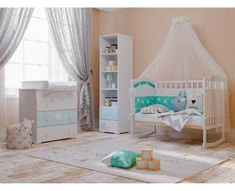 Детская модульная мебель Лилу (композиция 2)