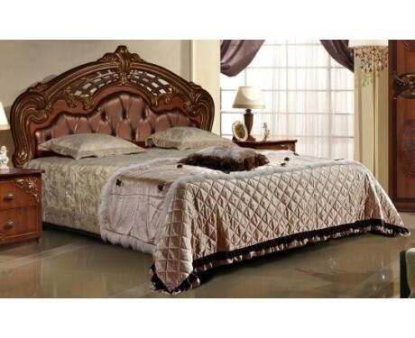 Кровать Розалия-3 КМК 0645.9 (с мягким элементом) 1600*2000