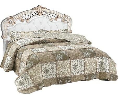 Кровать Розалия-3 1600*2000 КМК 0645.9 (с мягким элементом)