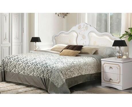 Кровать 1600*2000 Мелани-1 КМК 0434.6-01 (с мягким элементом)