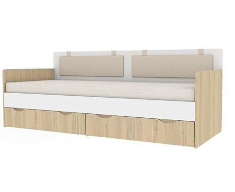 Кровать-тахта + к-т подушек 900.4 Кот (900*2000)
