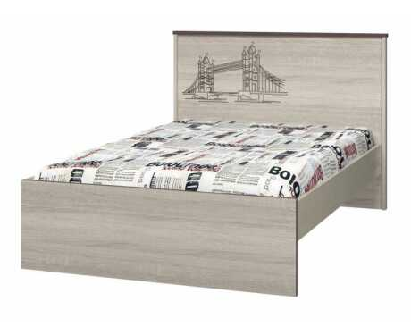 Кровать 1200 с настилом ИД 01.254