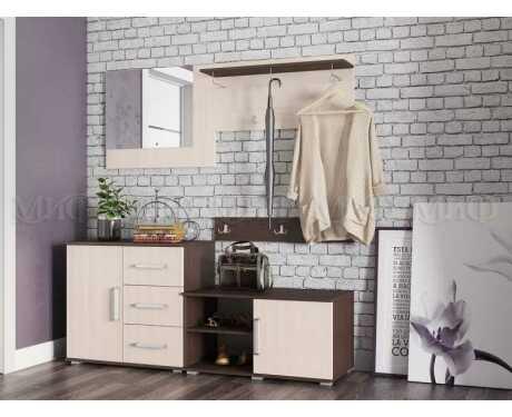 Модульная мебель для прихожей Белла (композиция 1)